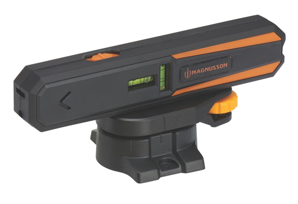 Magnusson IM01 Red  Automatic Line & Point Laser Level