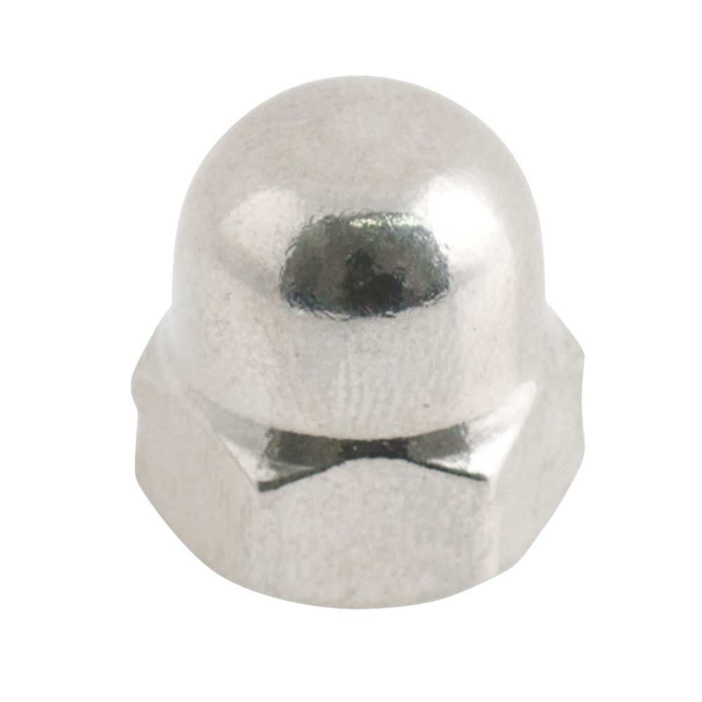 Easyfix A2 Stainless Steel Dome Nuts M8 100 Pack