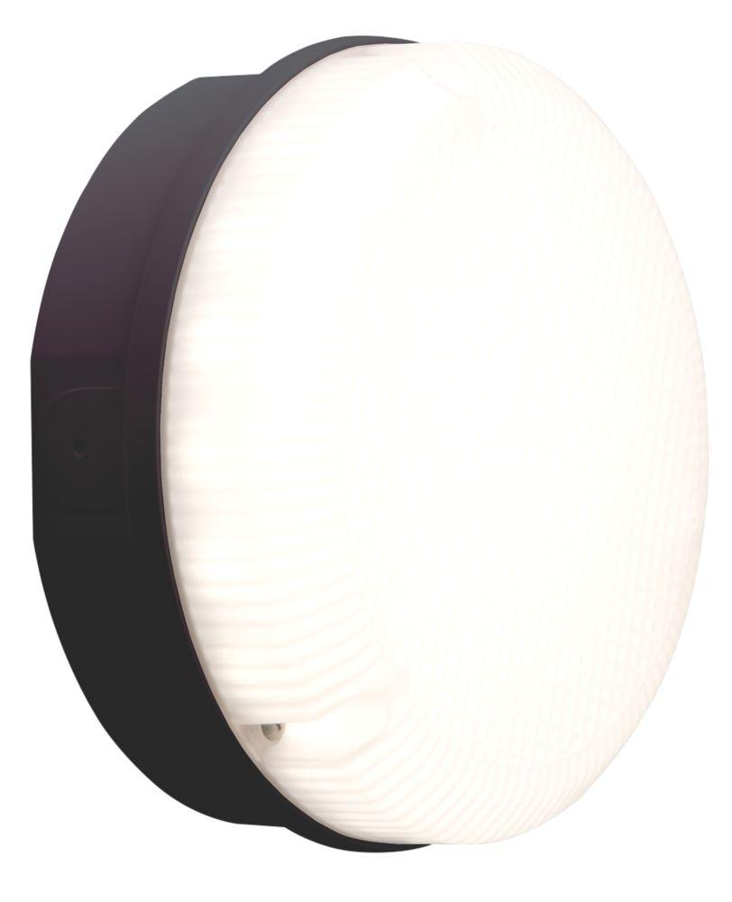 Luceco LBM200B7S40 LED Bulkhead Black 7.5W