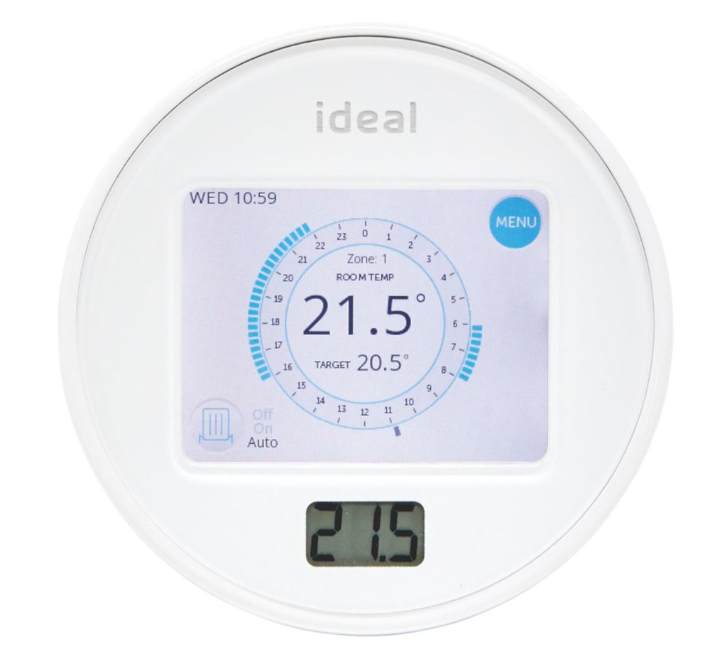 Ideal Heating 212862 Touch Heat & System RF Programmable Room Thermostat