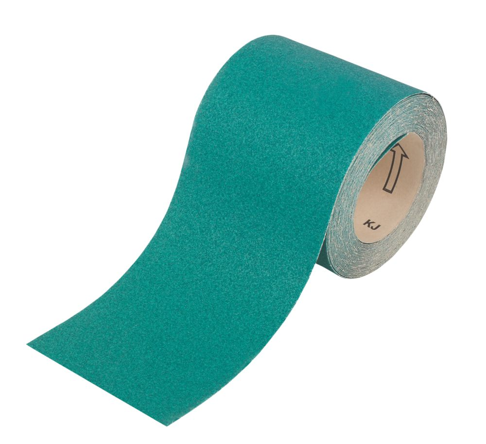 Oakey Liberty Green Sanding Roll Unpunched 10m x 115mm 60 Grit