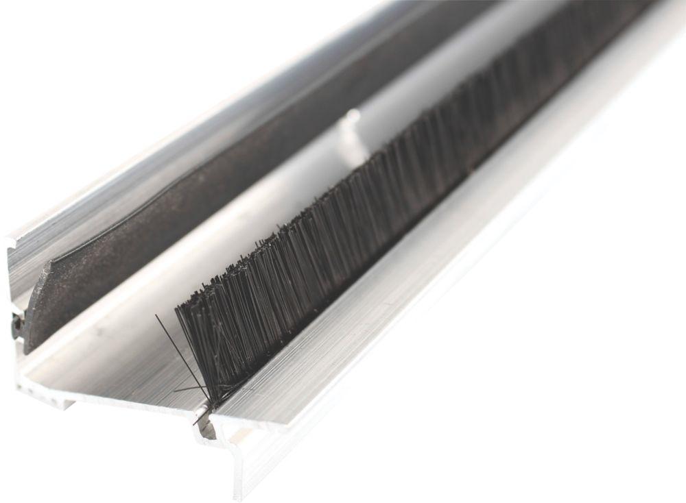 Diall 2-Part Threshold Door Seal Silver 914mm