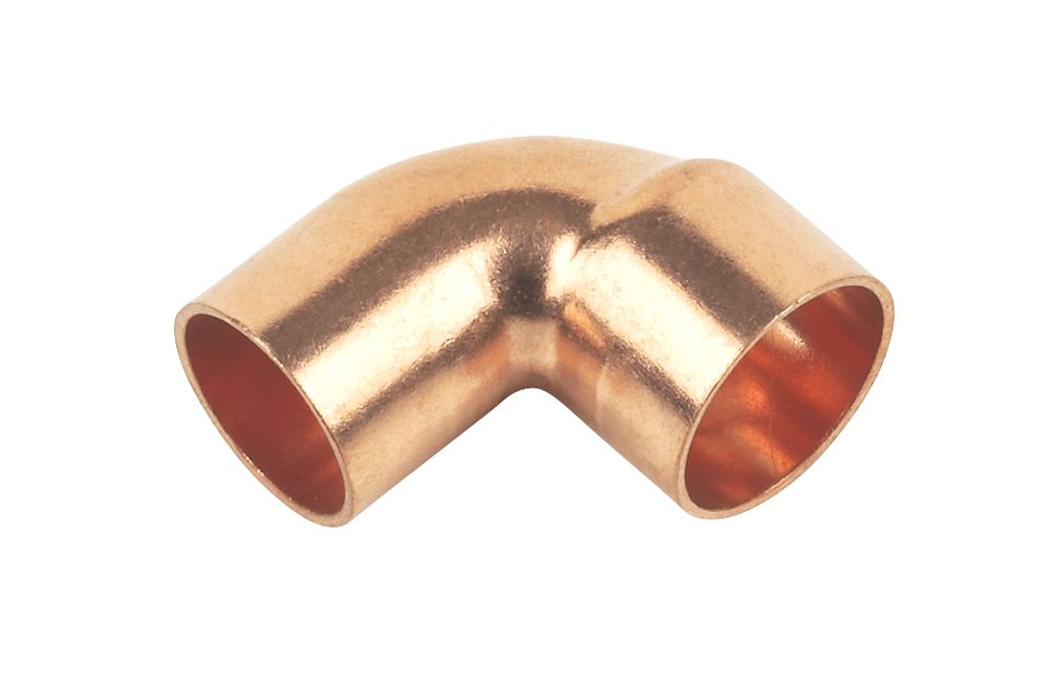 Flomasta   End Feed Equal 90° Street Elbows 15mm 2 Pack