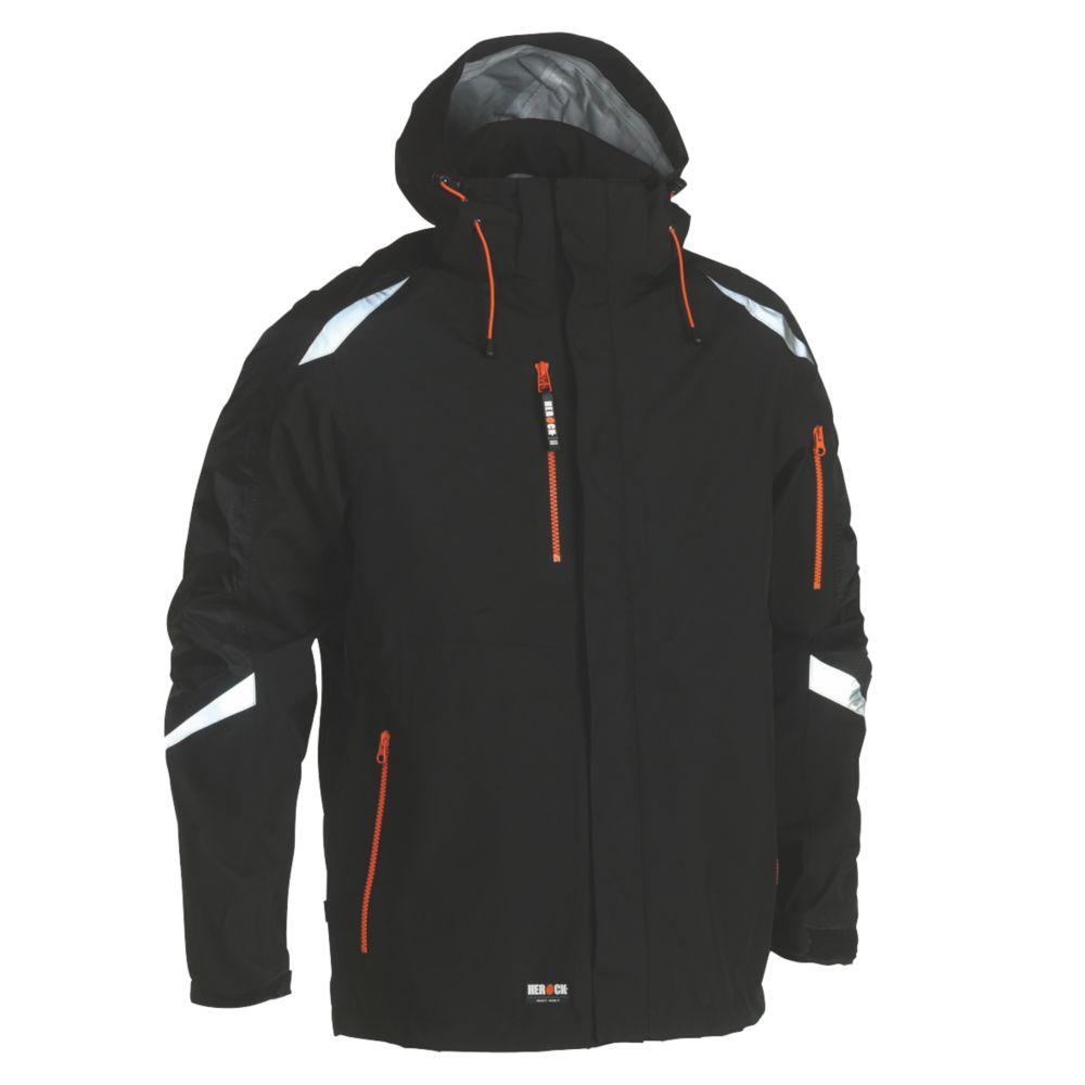 "Herock Cumal Jacket Black Medium 46"" Chest"