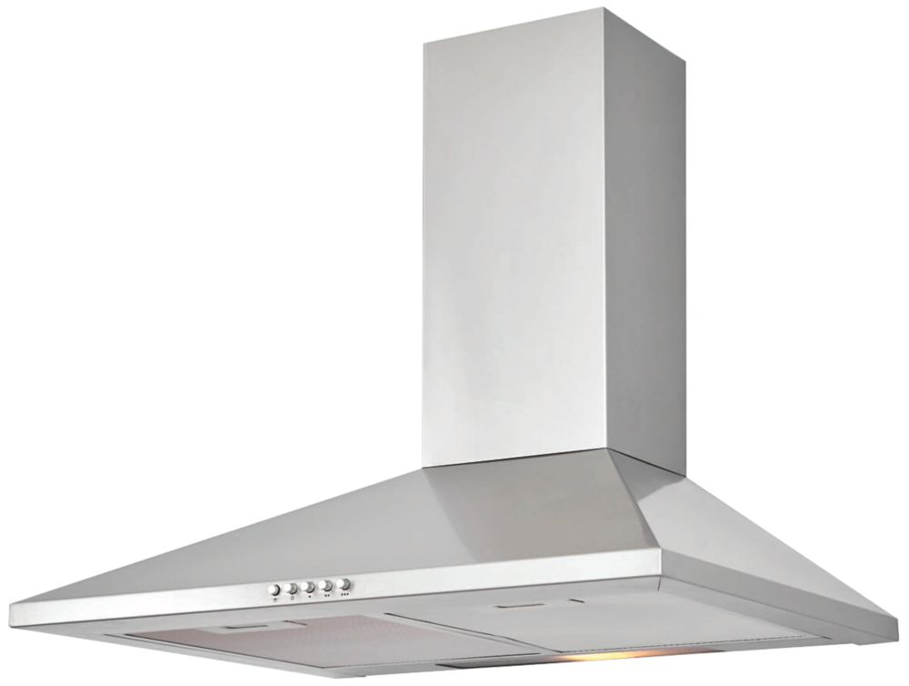 Cooke & Lewis CHS60 Chimney Hood Stainless Steel 600mm