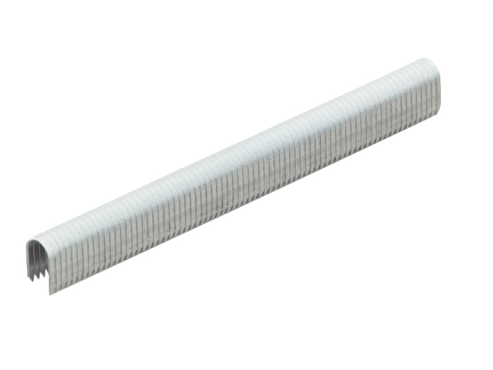 Tacwise CT-45 White Cable Tacker Staples Galvanised 10 x 6.3mm 5000 Pack