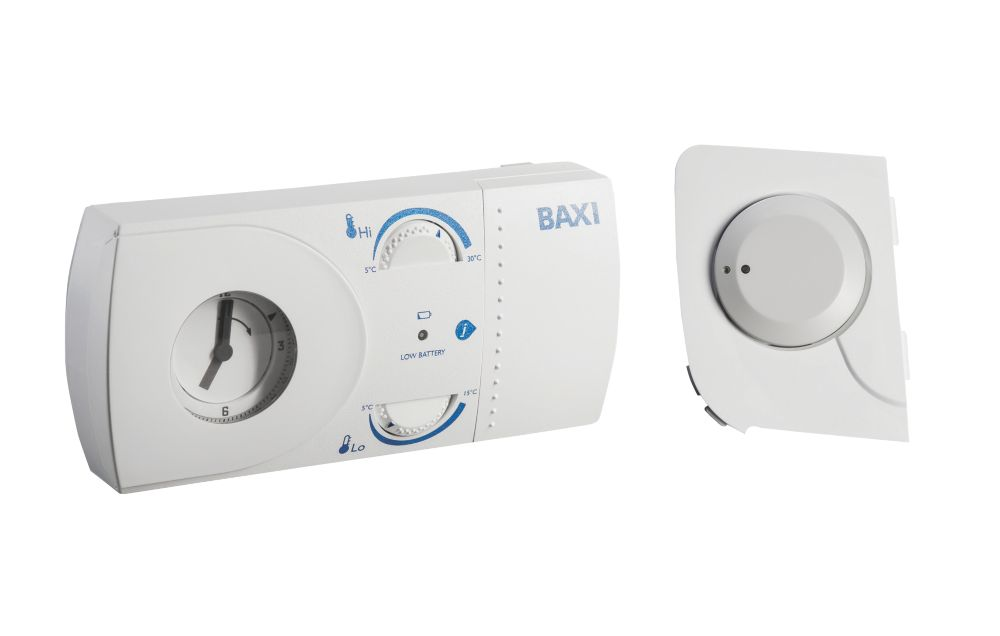 Baxi 7212343 EcoBlue Wireless Mechanical RF Themostat