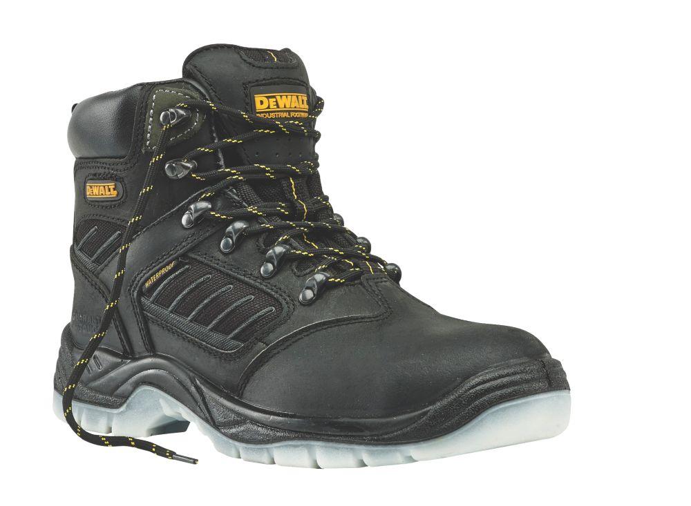 DeWalt Recip   Safety Boots Black Size 9