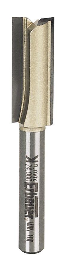 "Erbauer ¼"" Shank Straight Router Cutter 10 x 25.4mm"
