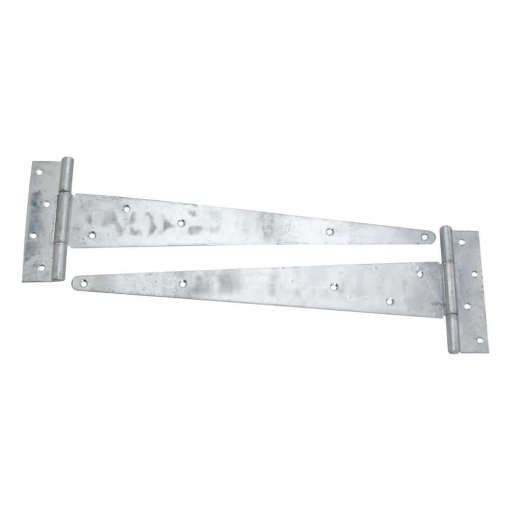 Smith & Locke Self-Colour Heavy Duty Scotch Tee Hinge 500mm 2 Pack