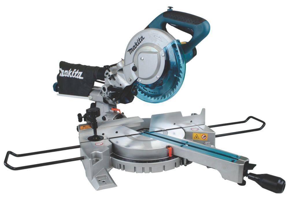 Makita LS0815FLN/2 216mm  Electric Single-Bevel Sliding Mitre Saw 240V