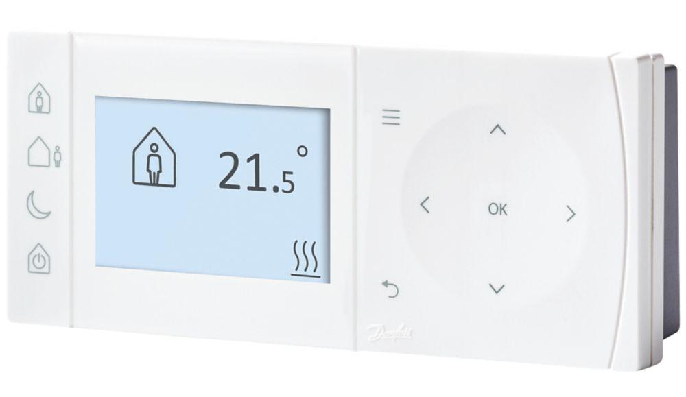 Danfoss TPOne-B  Programmable Room Thermostat Battery-Powered