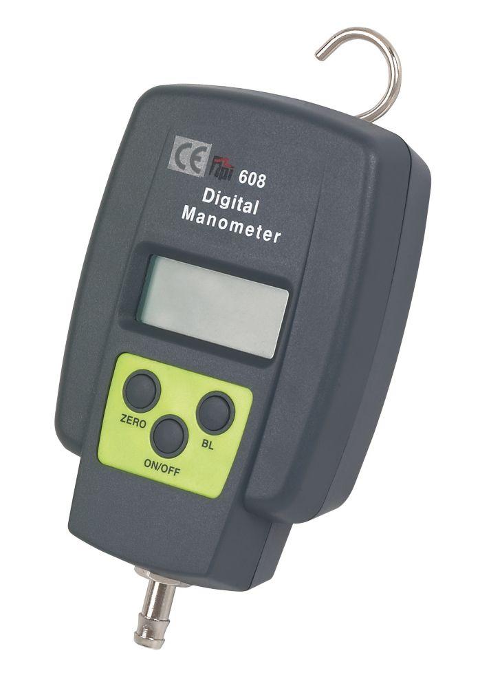 TPI 608 Single Input Manometer