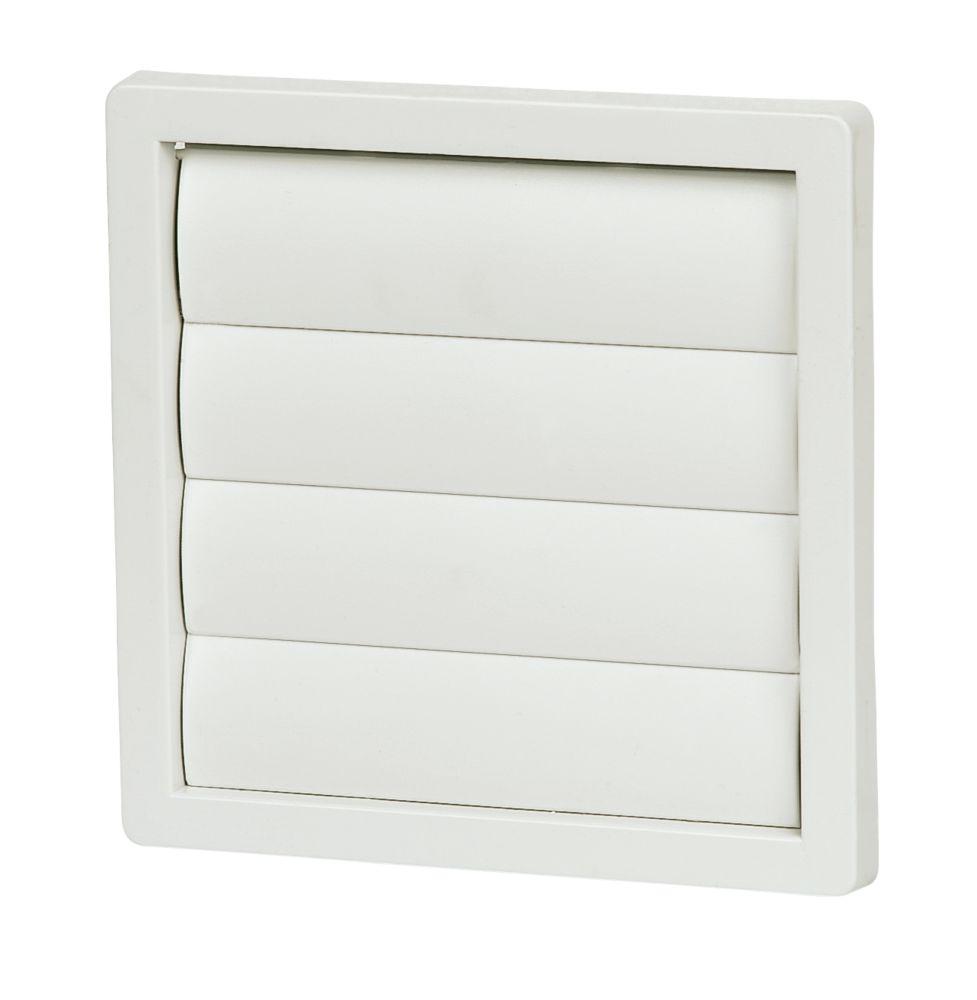 Manrose Flap Vent White 125 x 125mm