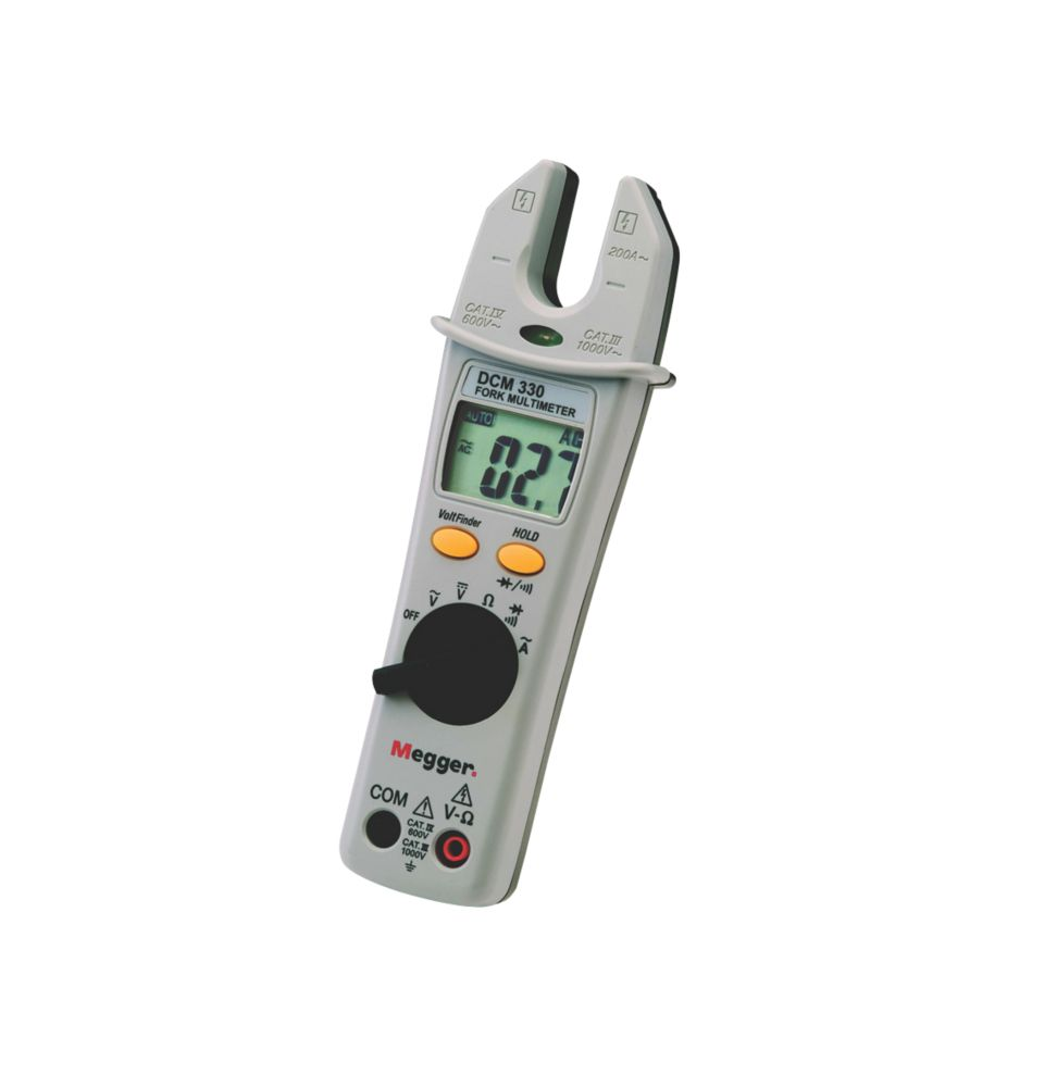 Megger DCM330 Digital Fork Multimeter