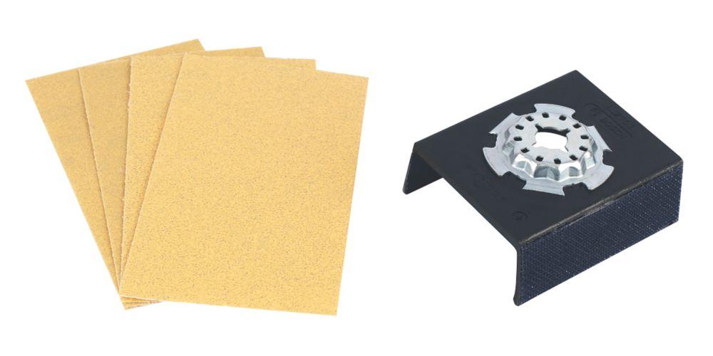 Bosch Sanding Plate 70 x  5 Piece Set