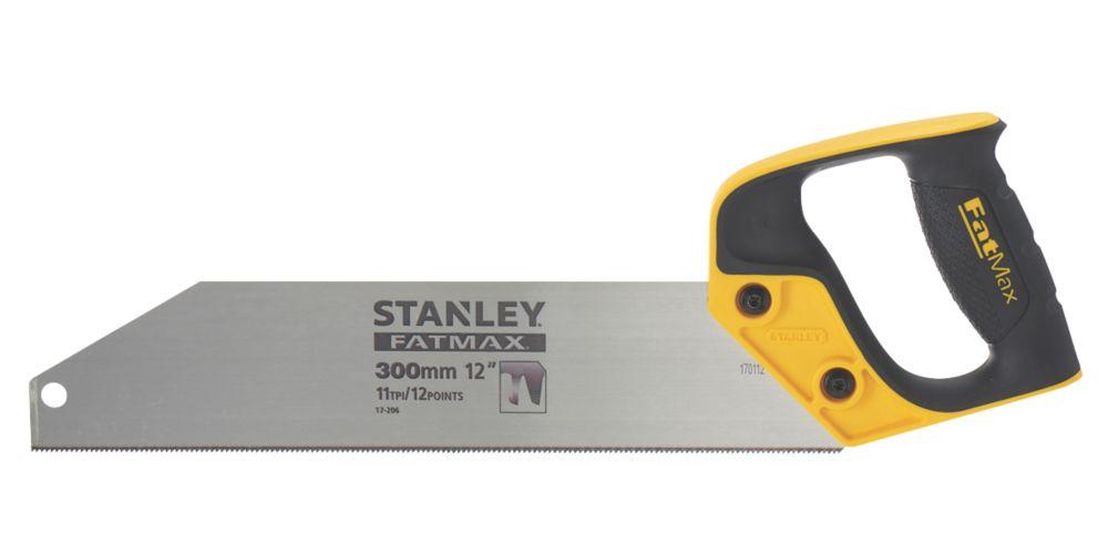 "Stanley FatMax  11tpi Plastic Plastic Saw 12"" (300mm)"