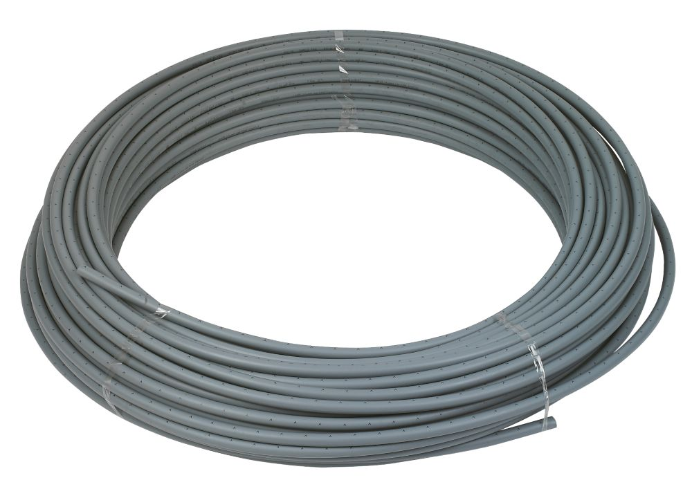 FloFit  Push-Fit Polybutylene Barrier Pipe - Grey 15mm x