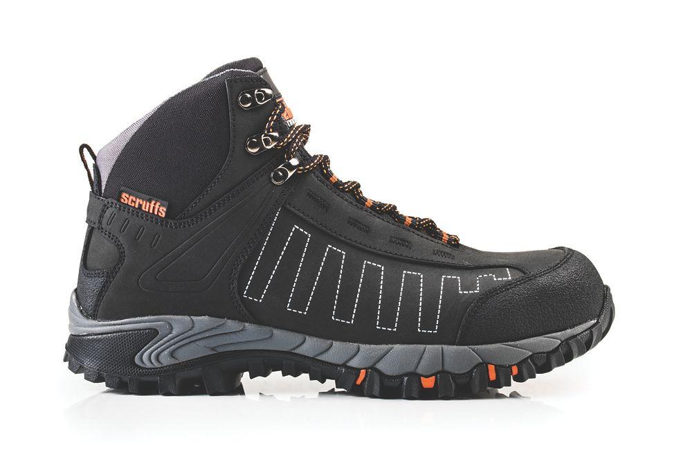 Scruffs Cheviot   Safety Trainer Boots Black Size 10