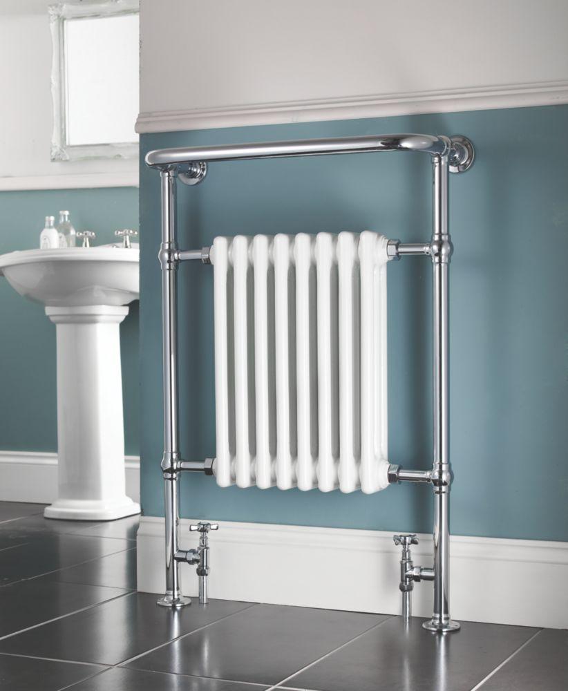 AF-IE16001 Bathroom Radiator 952 x 659mm Chrome 1699BTU