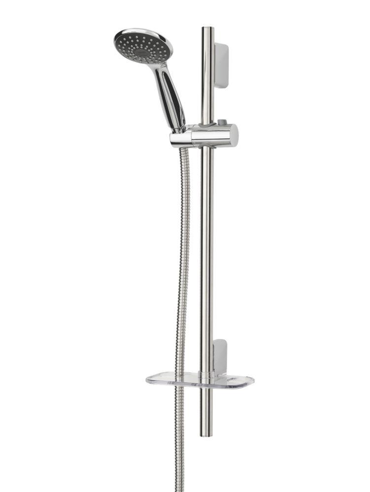 Triton Ellis Shower Kit Modern Design Chrome