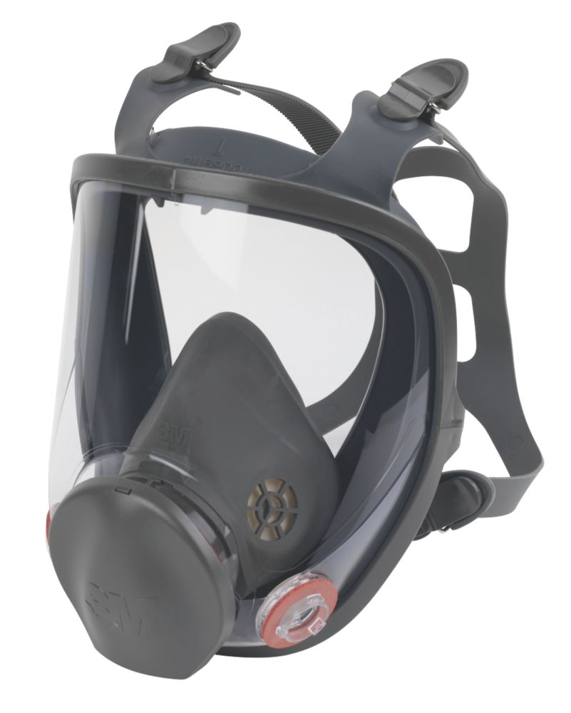3M 6000 Series Full Face Mask No Filter-Mask Only