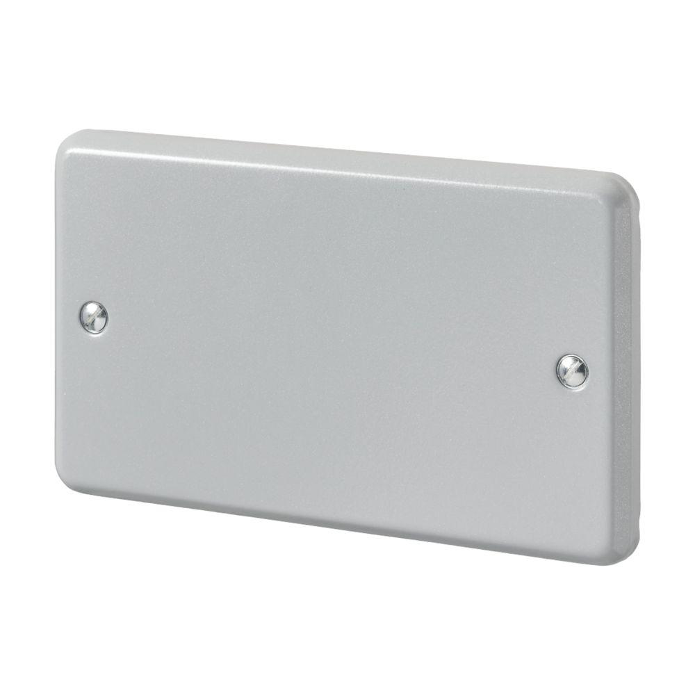 MK Metal-Clad Plus 2-Gang Metal Clad Blanking Plate