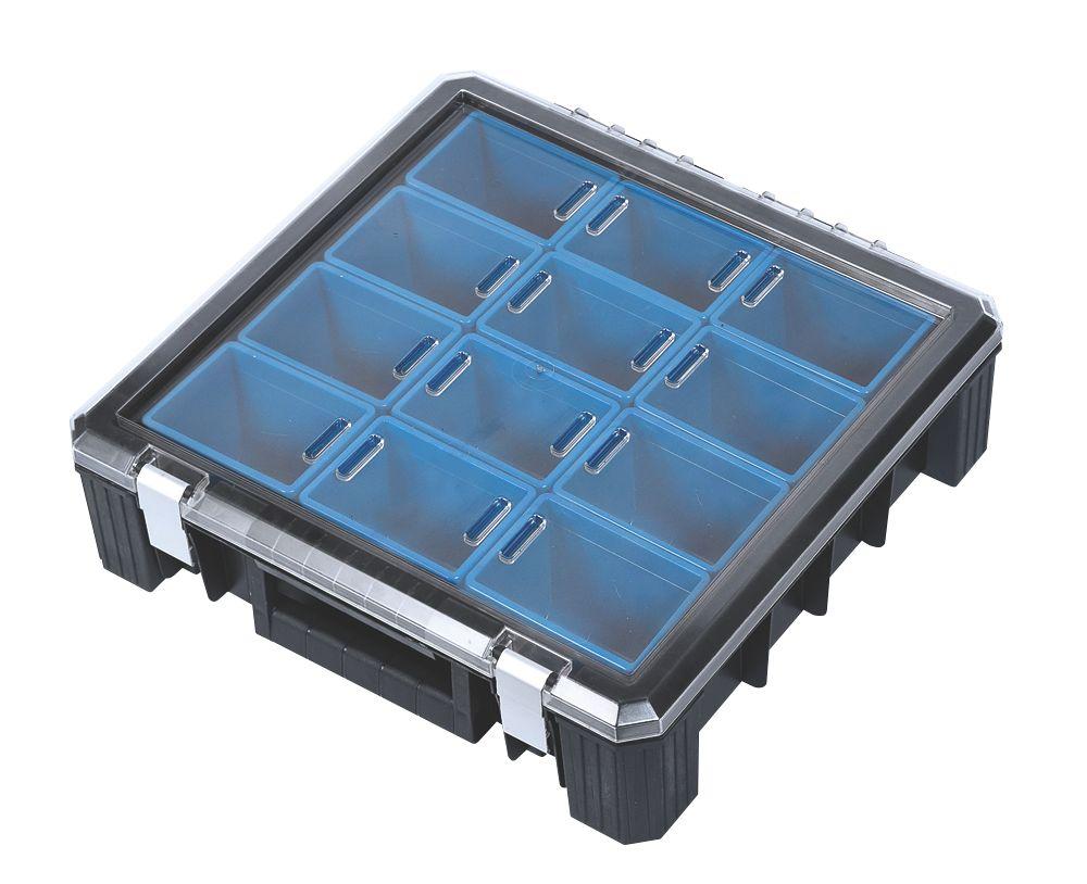 """Mac Allister HD 400 Deep 12-Compartment Organiser 15¼ x 15¼"""""""