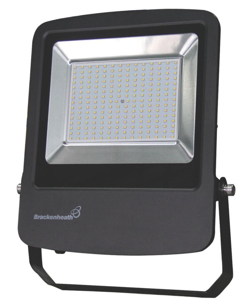 Brackenheath Rex LED Industrial Floodlight 150W Black Cool White