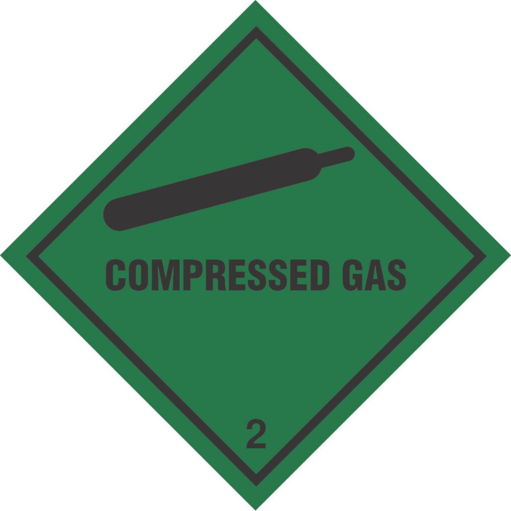 """Compressed Gas"" Diamond 100 x 100mm"