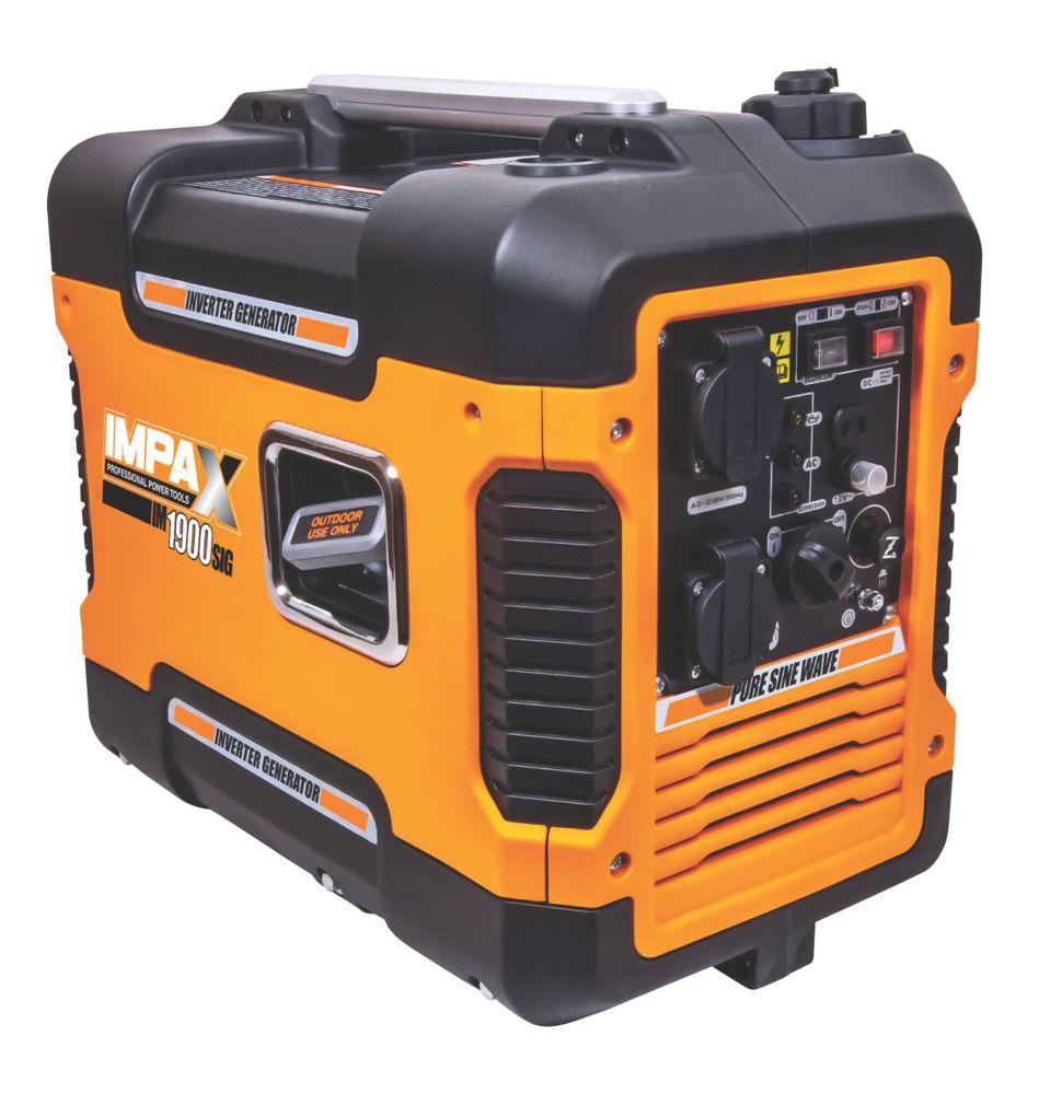 IMPAX IM1900SIG 1700W Inverter Generator 240V