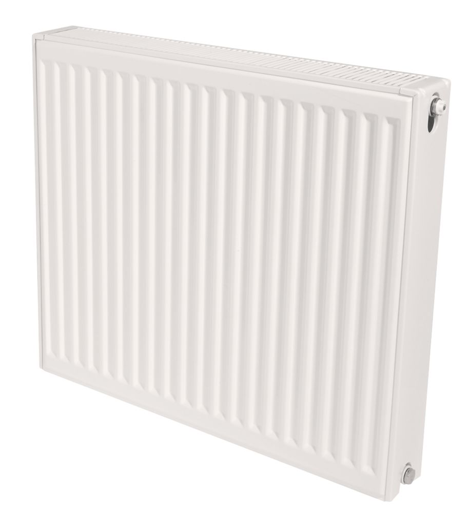 Stelrad Accord Compact Type 22 Double-Panel Double Convector Radiator 600 x 700mm White 3992BTU