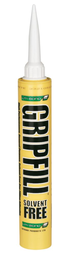 Gripfill  Solvent-Free White 350ml