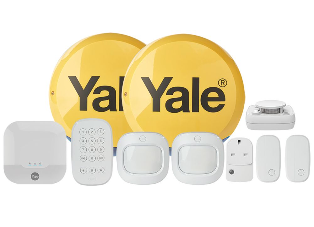 Yale IA-340 Smart Home Alarm System with Smartphone Control