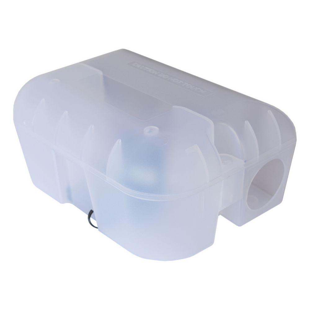 Pest-Stop Plastic & Metal Rat Easy-Set Trap Box