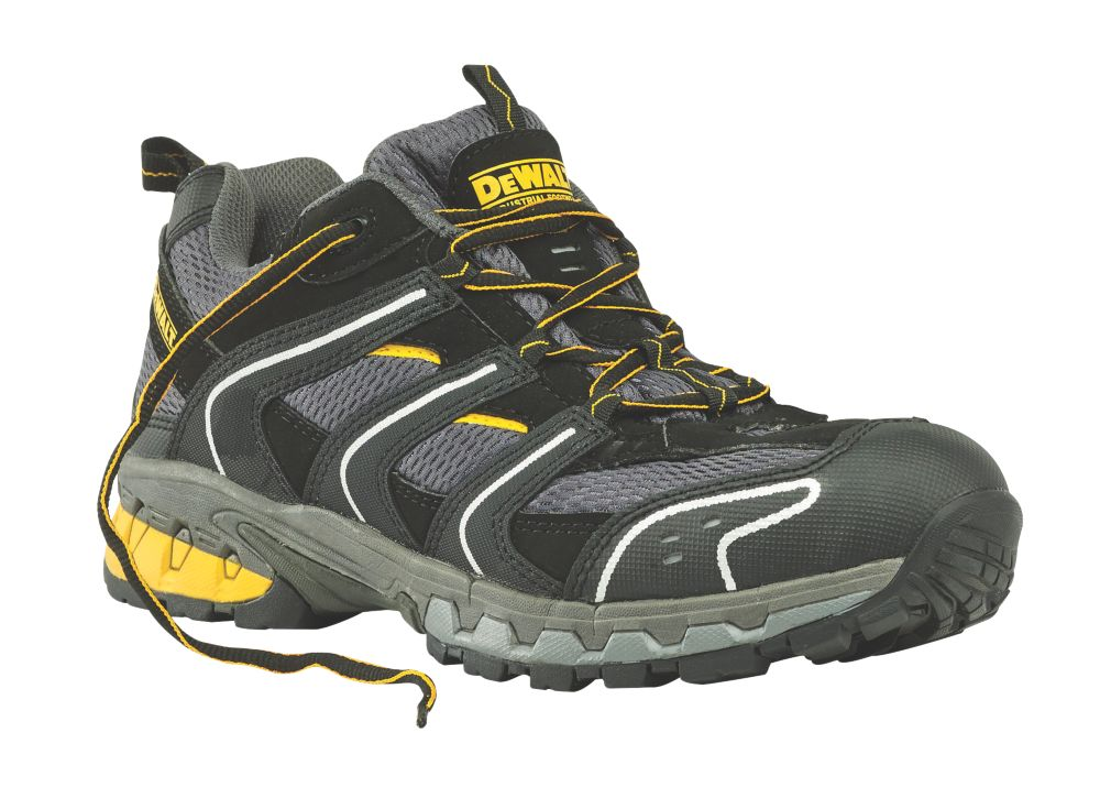 DeWalt Cutter   Safety Trainers Grey / Black Size 9