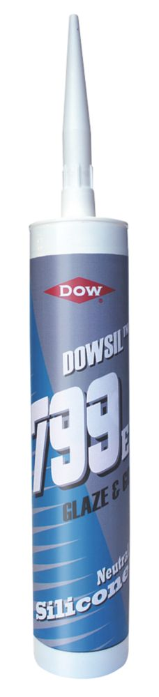 Dow 799 Glazing Silicone Clear 310ml