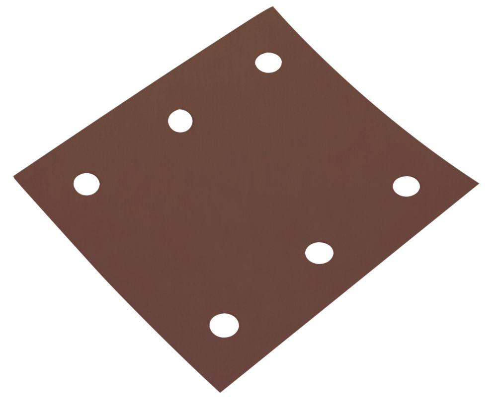 Flexovit ¼ Sanding Sheets Punched 114 x 102mm 60 Grit 5 Pack