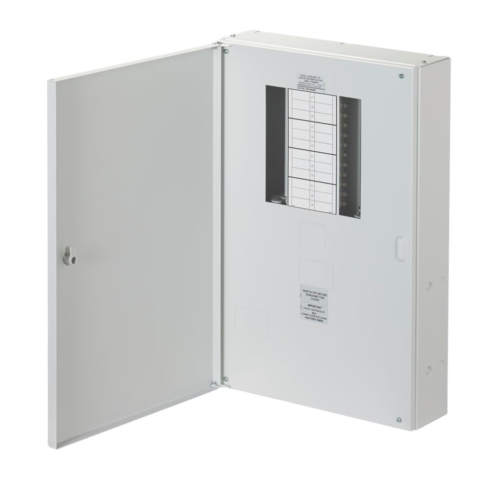 Wylex NH 8-Way Meter Ready 3-Phase Distribution Board