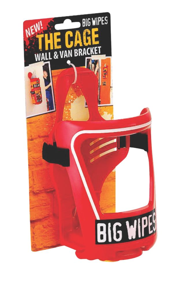 Big Wipes Cage Van / Wall Bracket