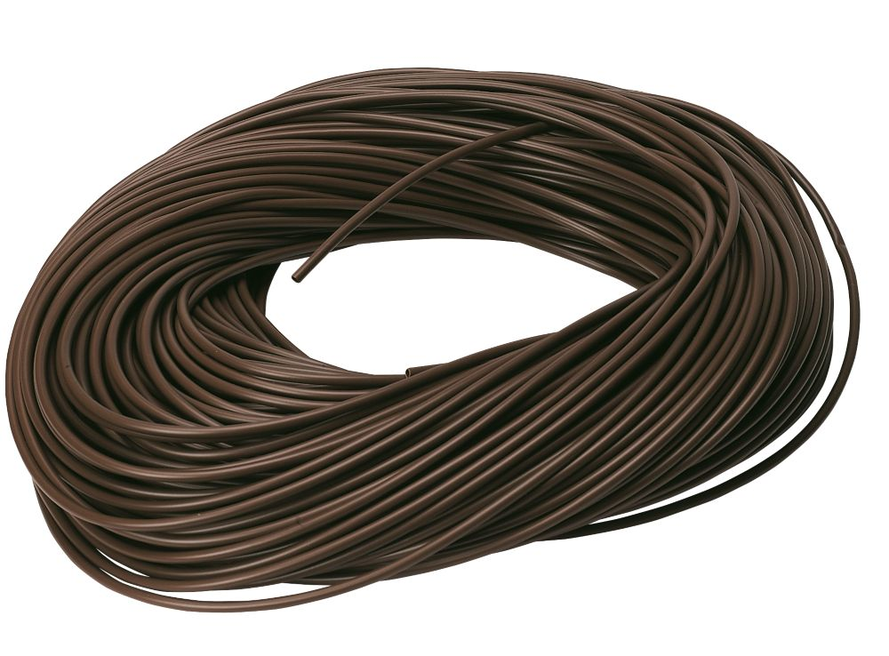 CED Brown Sleeving 3mm x 100m