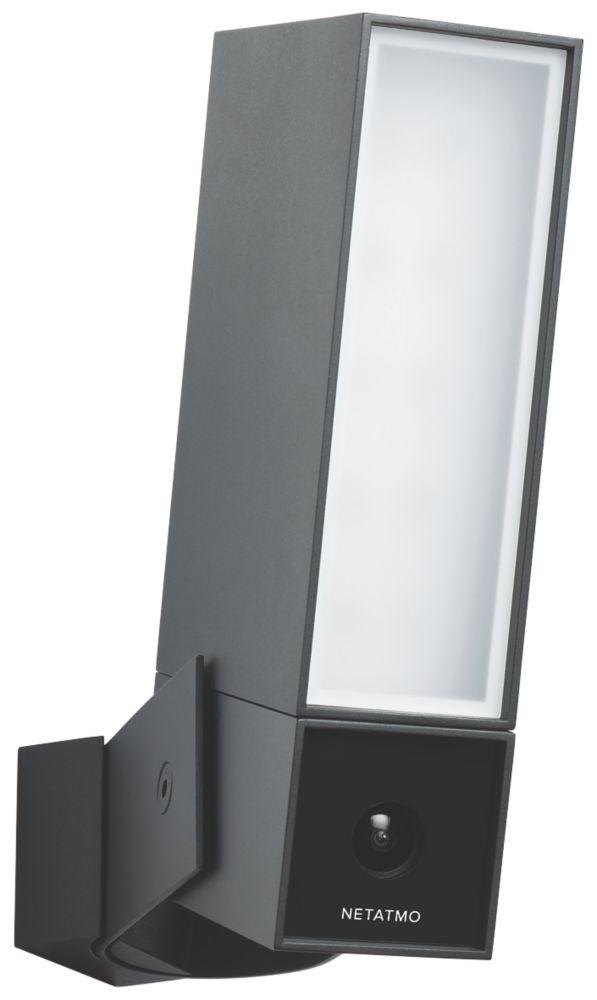 Netatmo Presence Smart Outdoor Security Camera PIR Black Aluminium