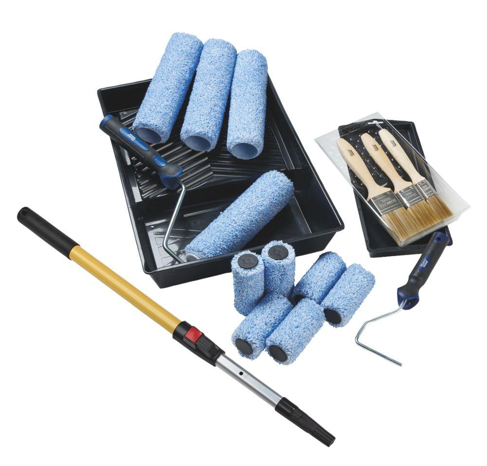 Harris Trade Big Box Roller & Brush Set 18 Pieces