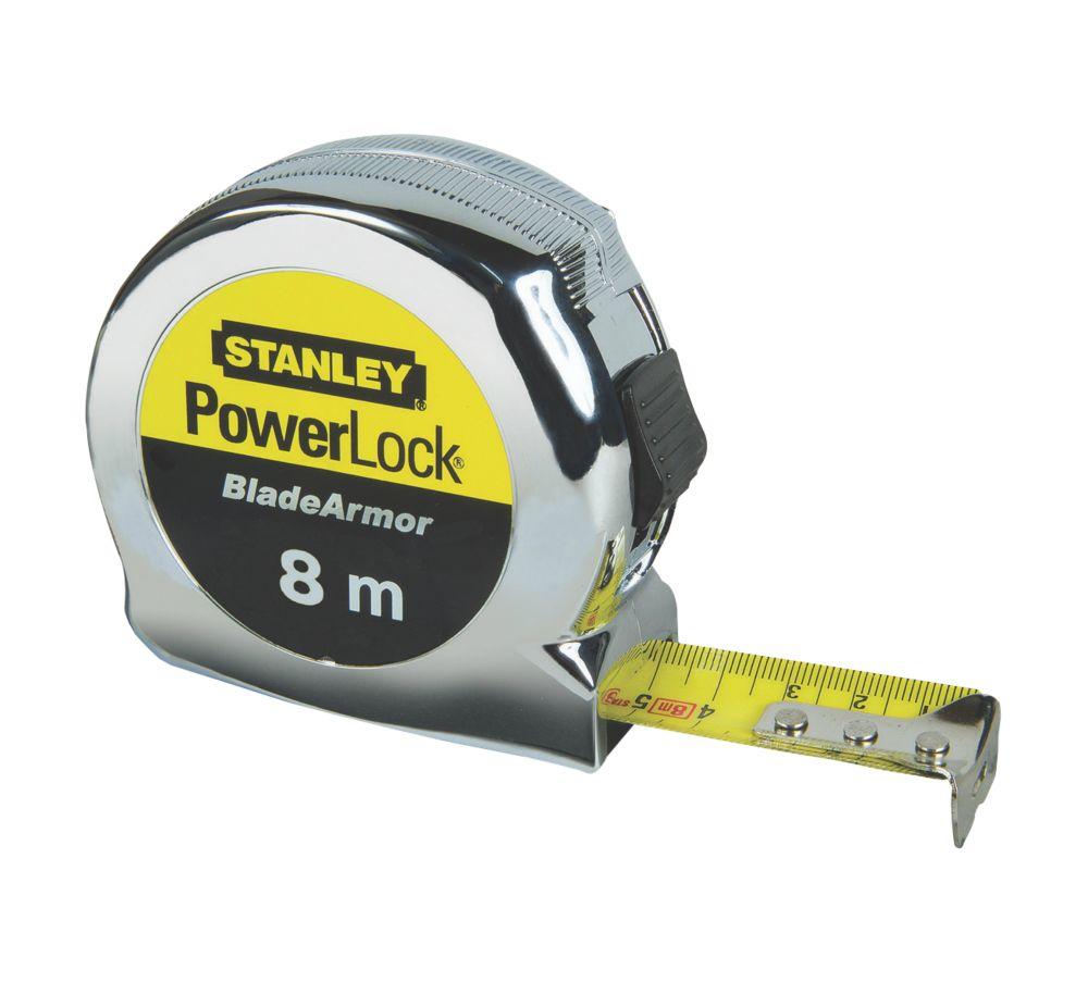 Stanley Powerlock 8m Tape Measure