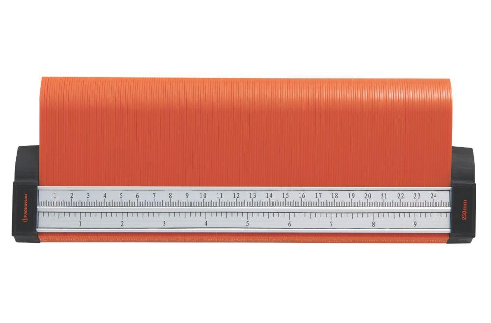 """Magnusson Polypropylene Ruler 9"""" (250mm)"""