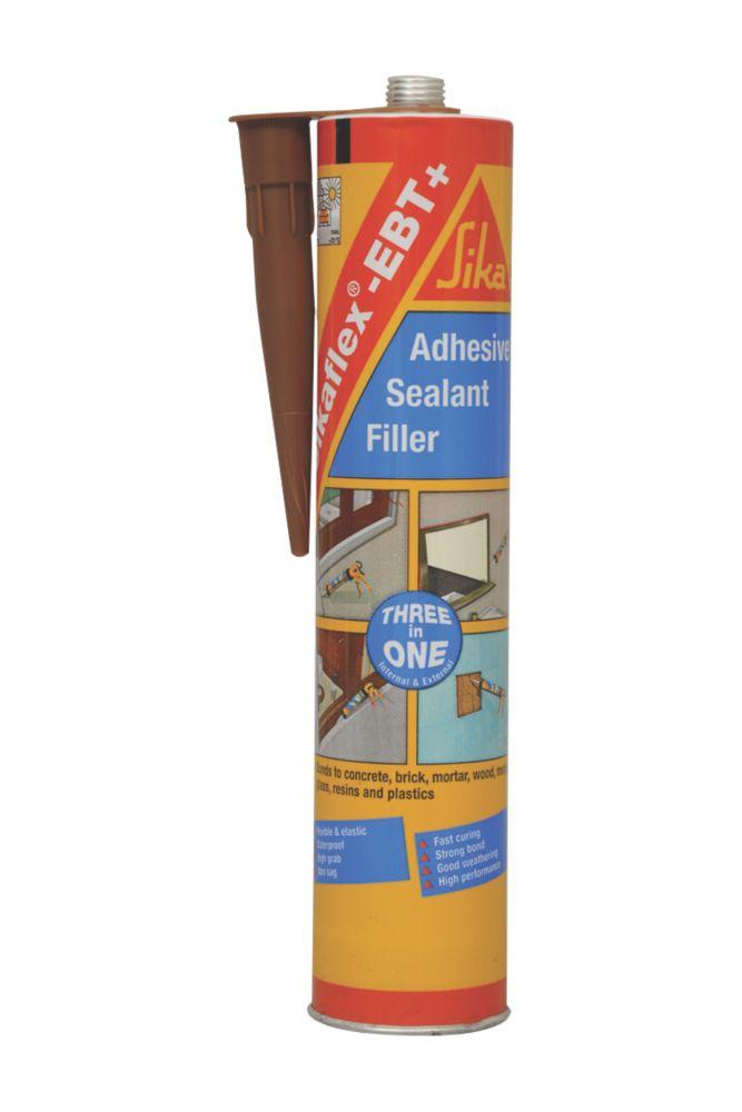Sika Sikaflex EBT+ All-Weather Sealant Brown 300ml