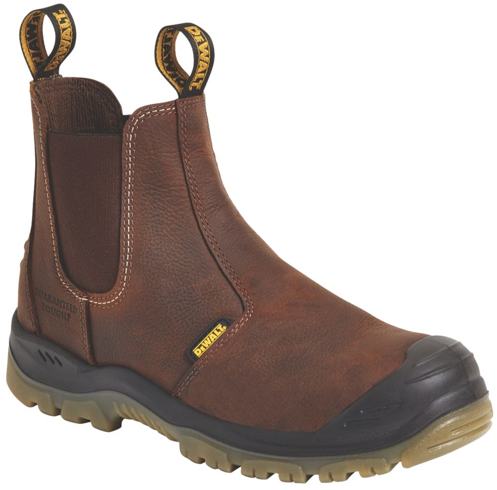 DeWalt Nitrogen   Safety Dealer Boots Brown Size 7