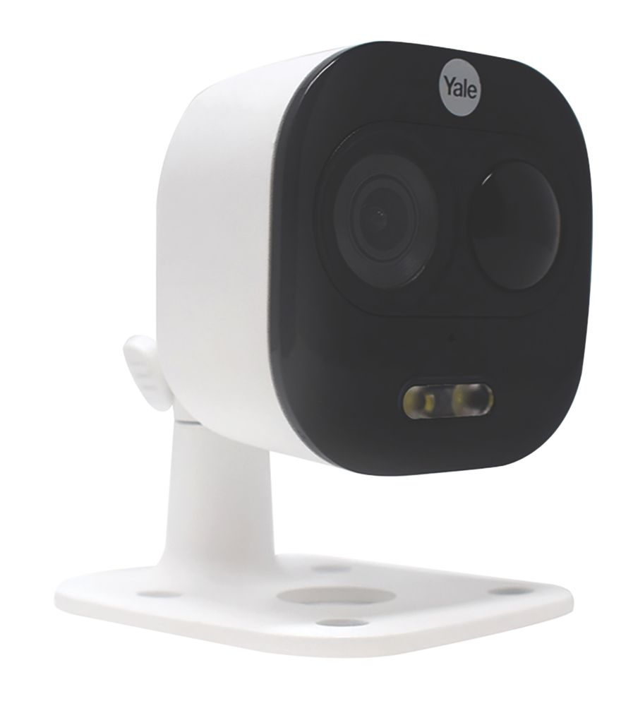 Yale All-in-One Outdoor Wi-Fi Camera White