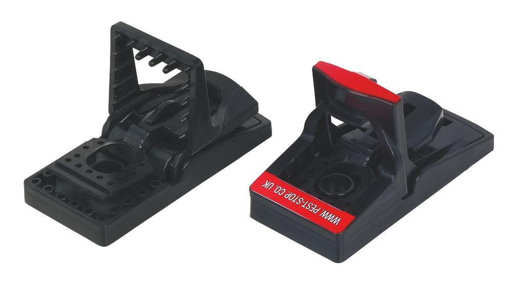 Pest-Stop Plastic Mouse Sure-Set Traps 2 Pack