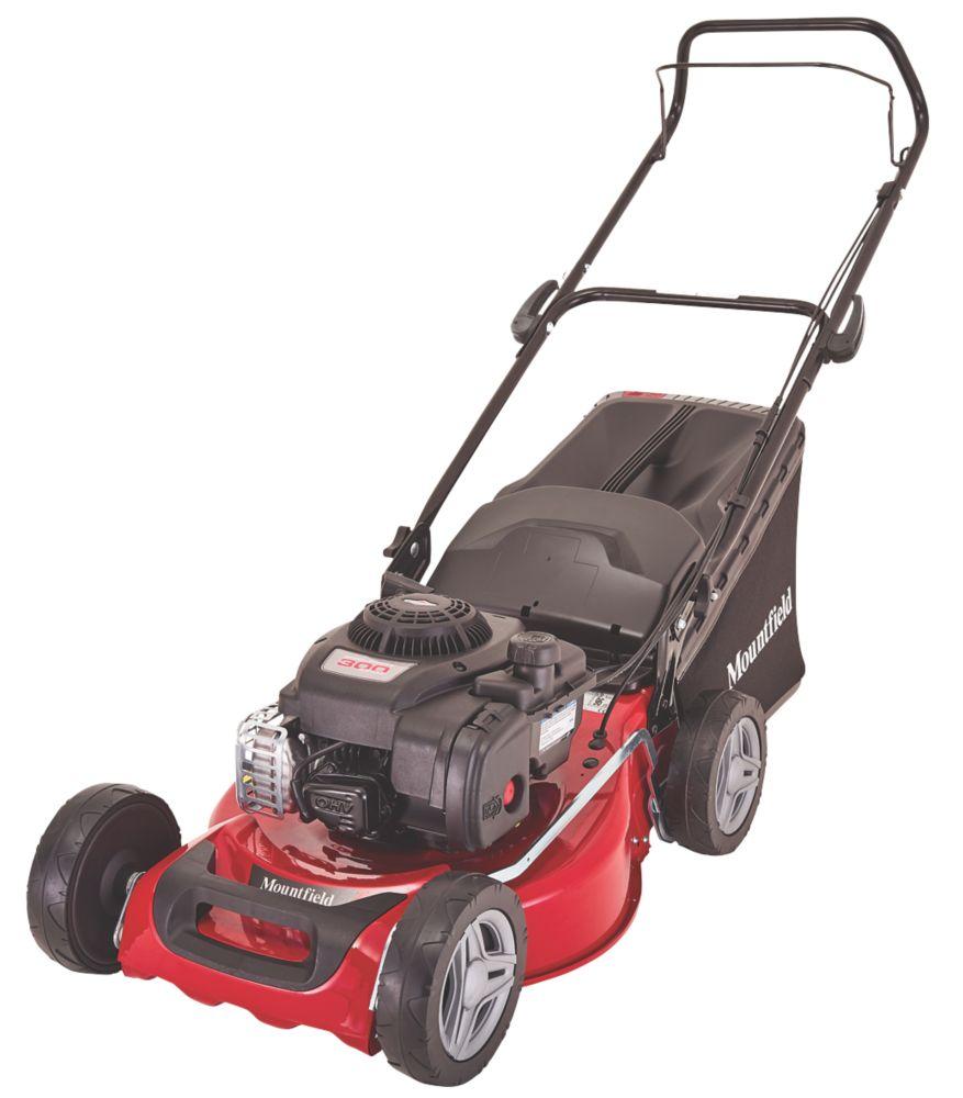 Mountfield HP185 46cm 125cc Hand-Propelled Rotary Petrol Lawn Mower